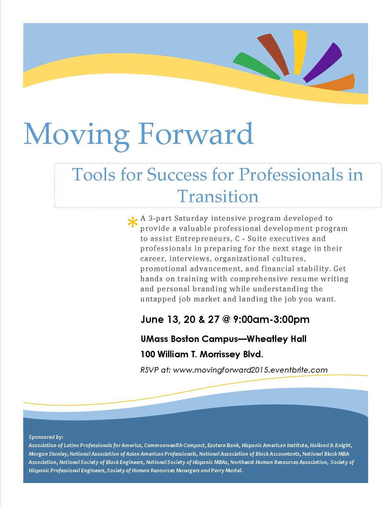 Moving Forward Tools For Professional Success