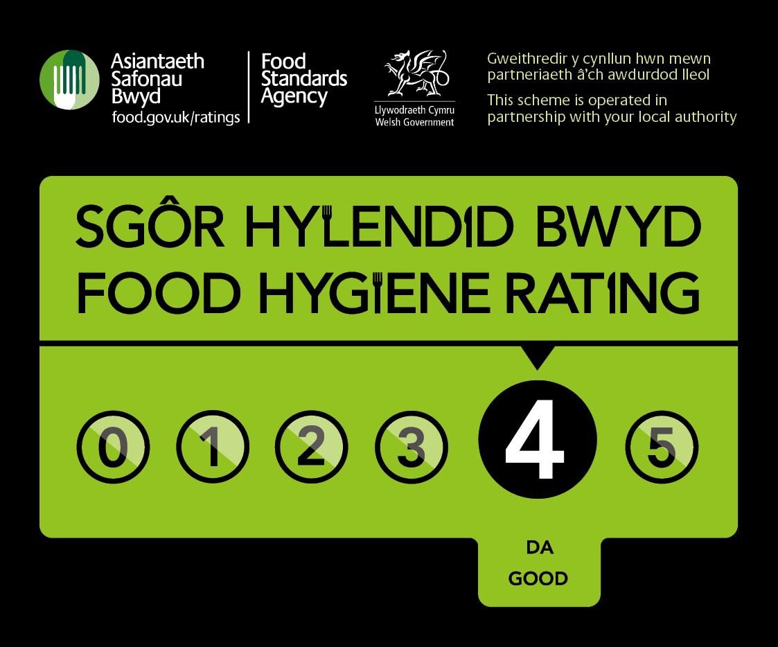 Food hygiene rating - 4