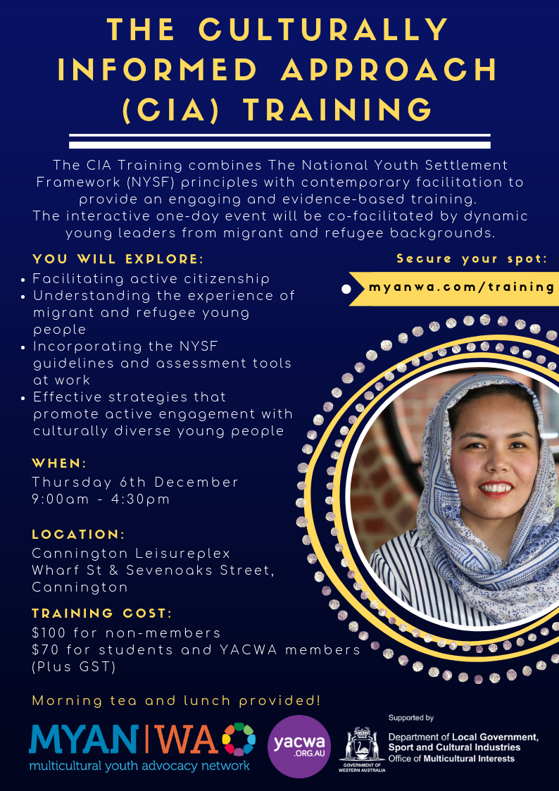 The Culturally Informed Approach  Cia  Training