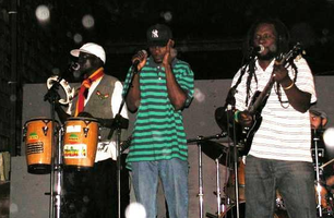 MYSTIC VIBES REGGAE BAND  JUNE 29,  2012