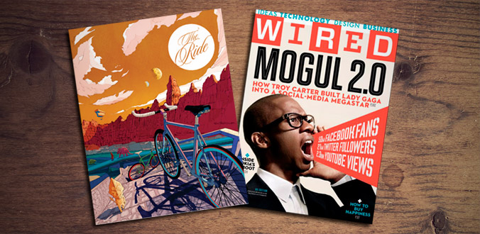 Ride Journal and Wired Magazine