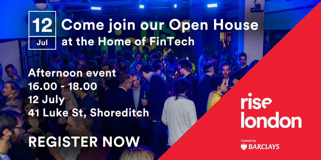 Join Our Open House at the Home of FinTech Startups