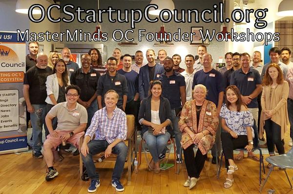 Master Minds OC Startup Accelerator Workshops