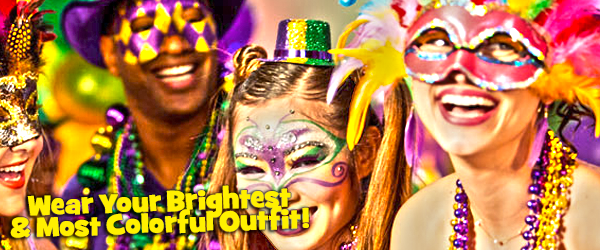Wear Your Brightest & Most Colorful Outfit!