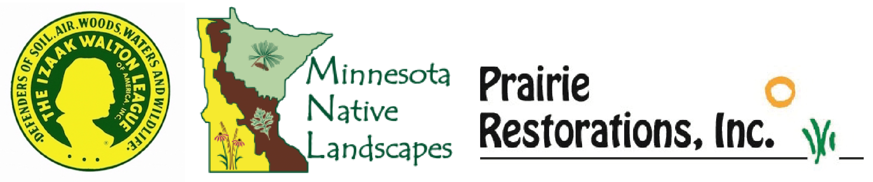 2018 DWN Sponsors: Isaac Walton League, Minnesota Native Landscapes and Prairie Restorations