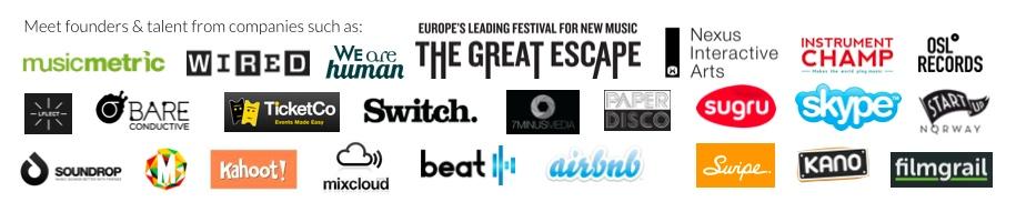 Tech, Music & The City Companies