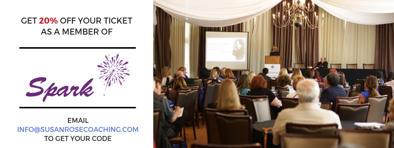 SPARK Members get 20% off their ticket to the 2019 Business Planning Workshop!
