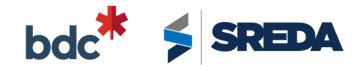 BDC & SREDA Logos