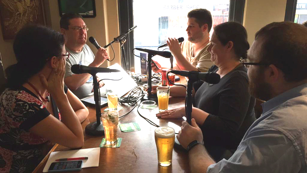 The 9pm Public House Forum 1 being recorded