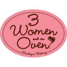 3 women & and oven logo