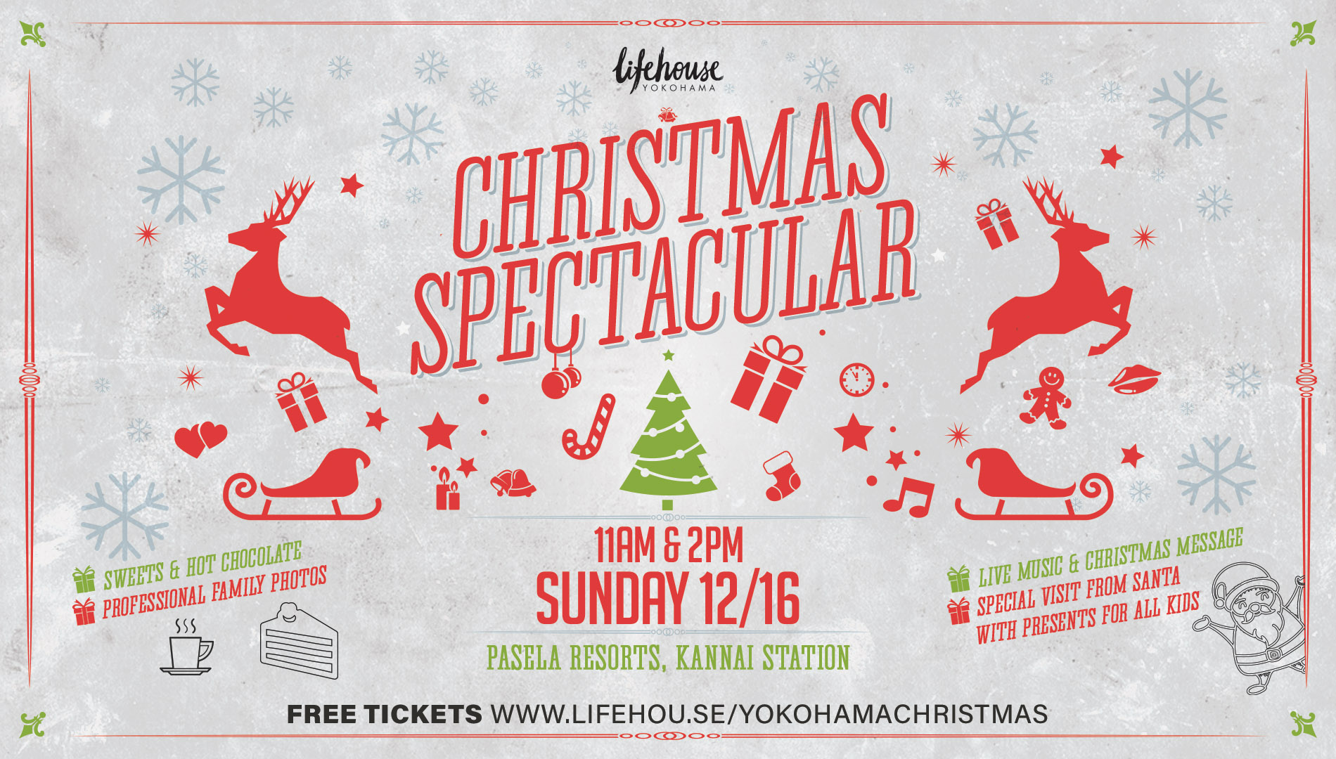 Yokohama Christmas Spectacular 2018 Tickets, Sun, Dec 16, 2018 at 10 ...