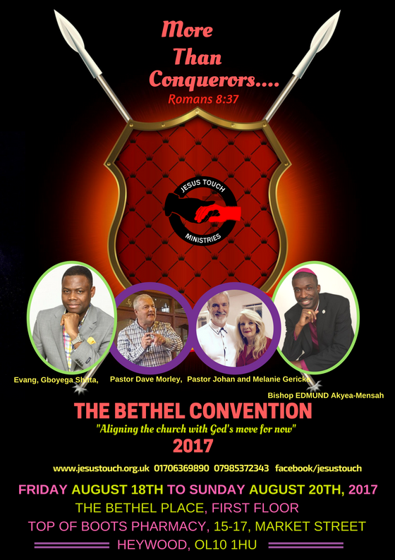The Bethel Convention 2017 Flyer page 3
