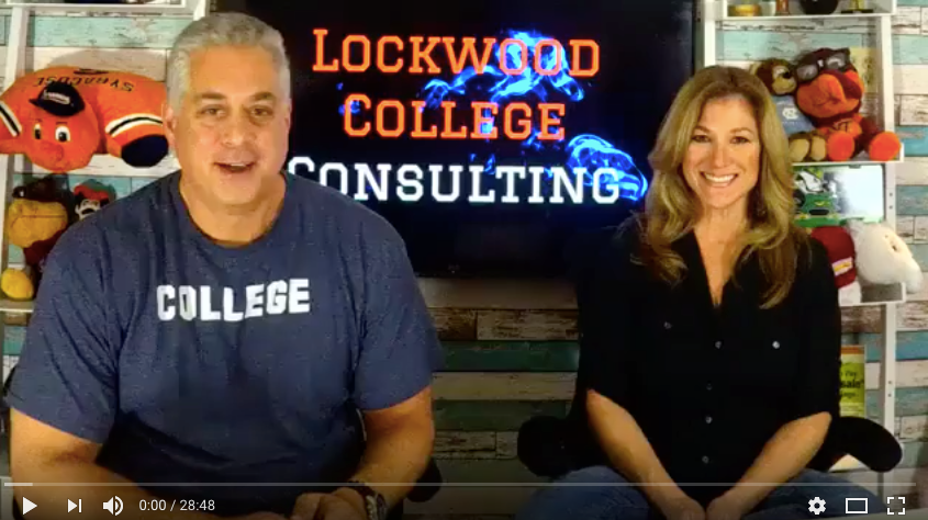 College Consultants Pearl & Andy Lockwood