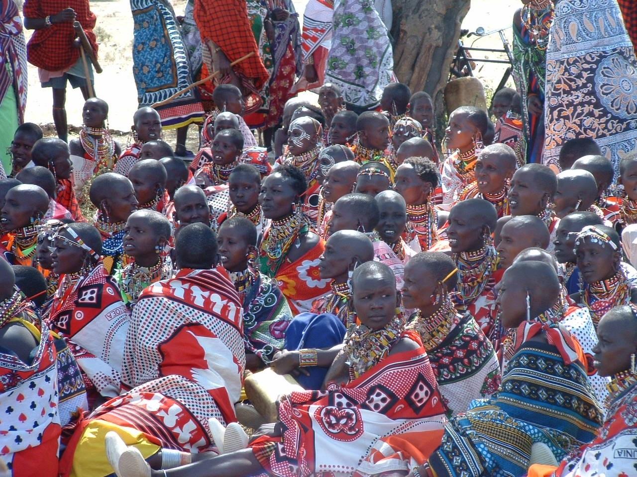Women's meeting in Tanzania