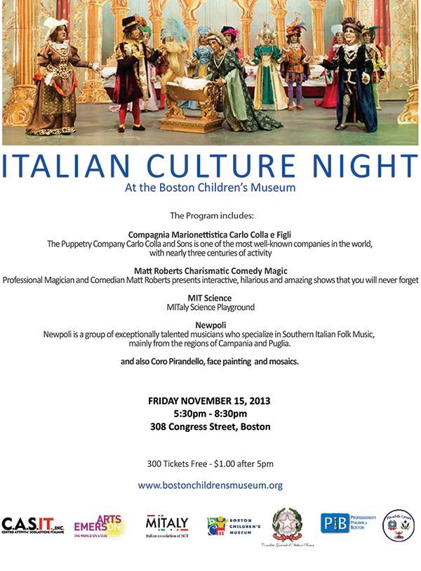 Italian Culture Night