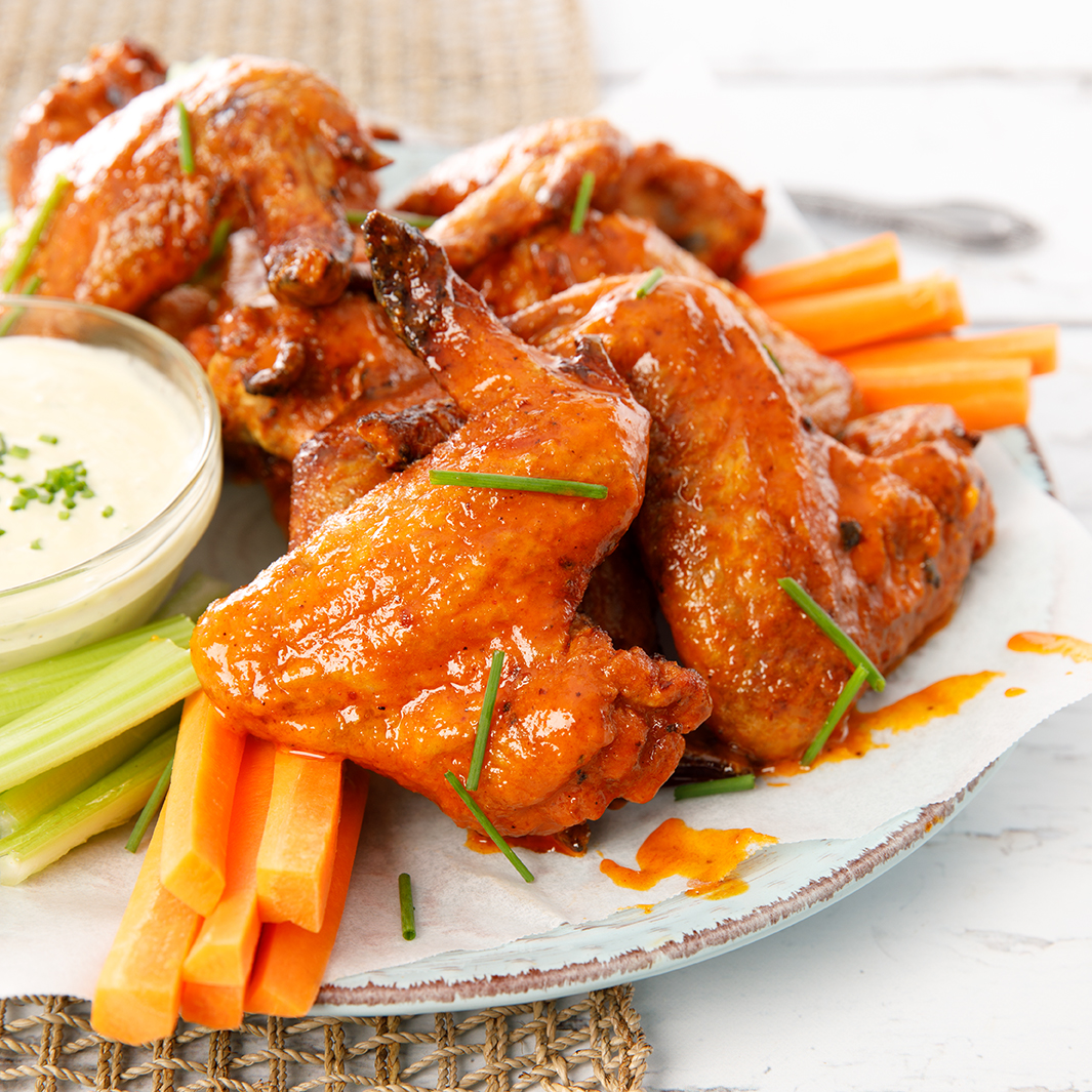 Spicy Hot Buffalo Wings