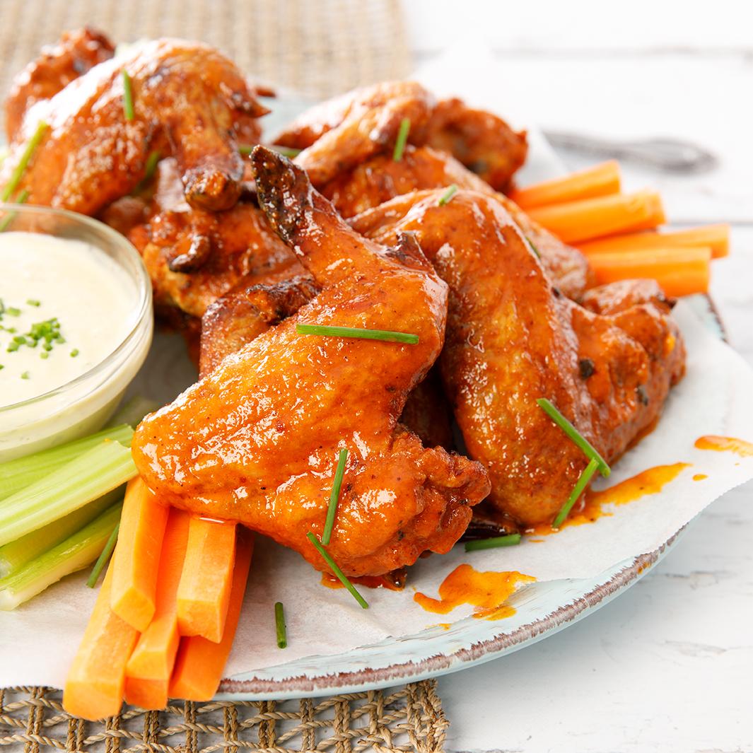 Spicy Hot Buffalo Wings