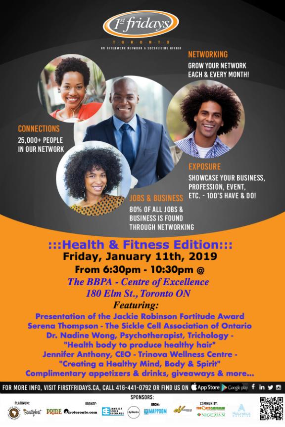 1st Fridays Health & Fitness Edition