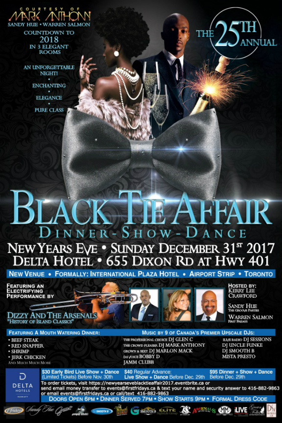 Black Tie Affair - New Years Eve 2017 Gala