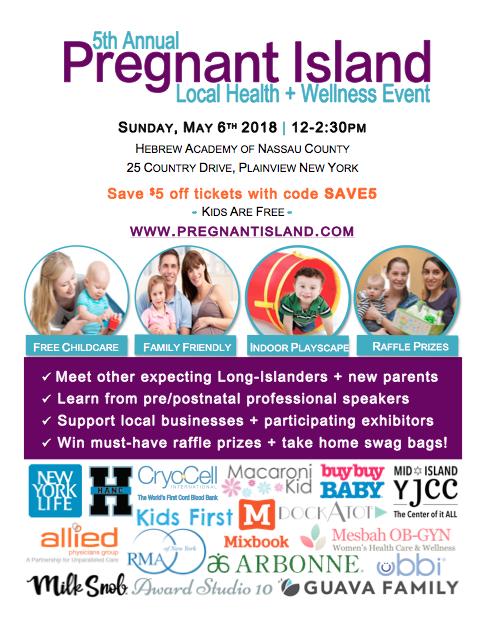Pregnant Island Flyer 2018