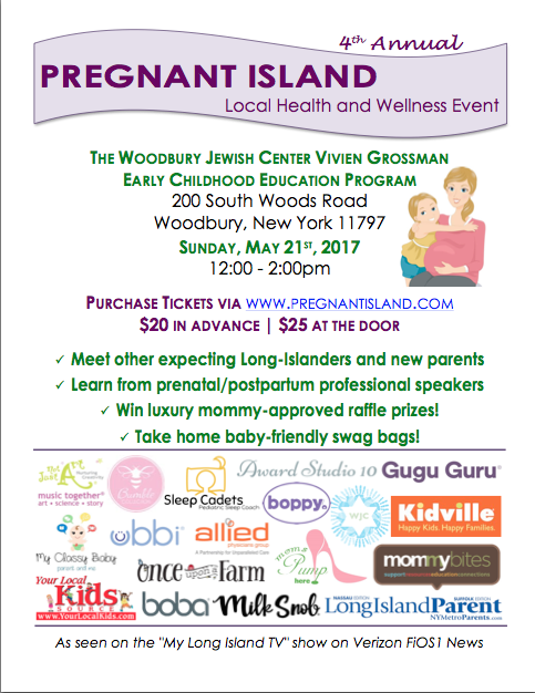 Pregnant Island Event Flyer