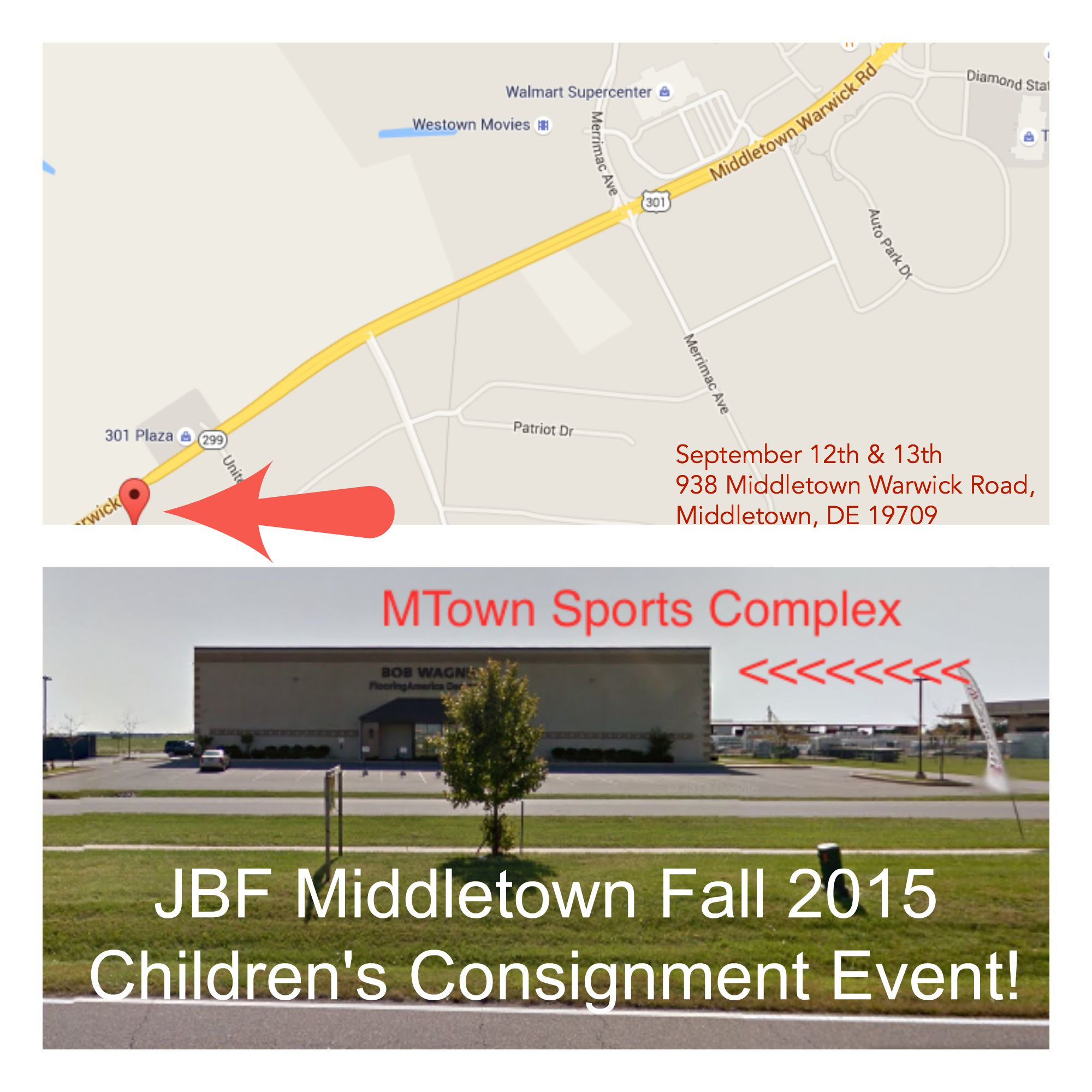 Jbf Middletown Fall 2015 Consignor Drop Off Ticket Tickets