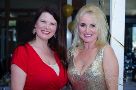 Carolyn Verhoef and Kelly Sayers