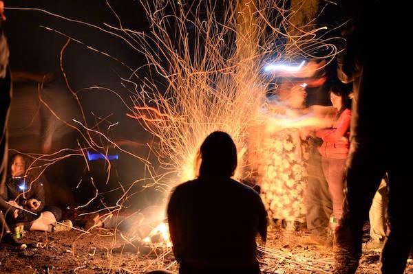 Campout Fire