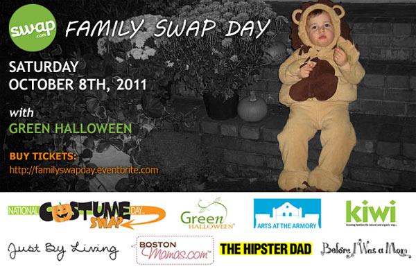 boston family costume swap day 2011