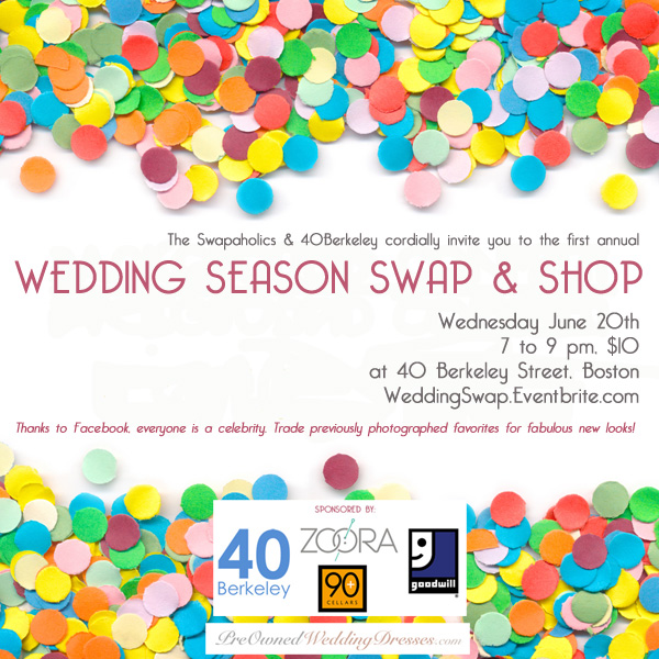 wedding season swap & shop boston