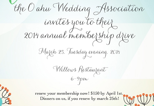 March Membership Meeting with OWA