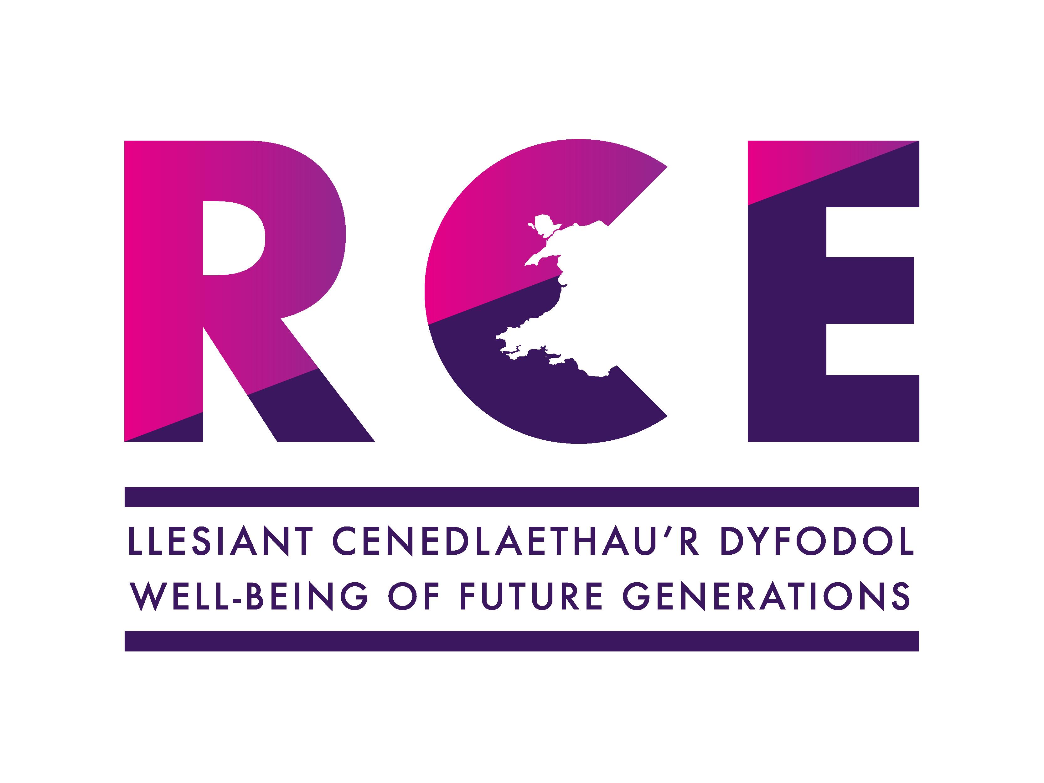 RCE Cymru logo