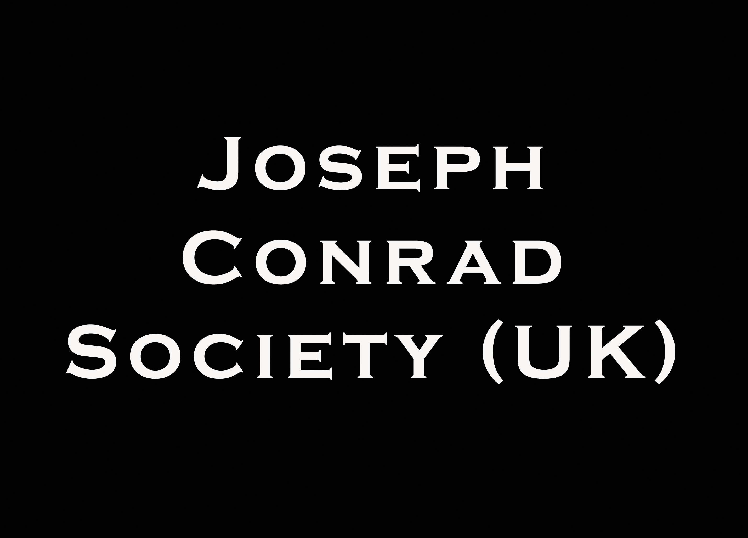 Joseph Conrad Society UK