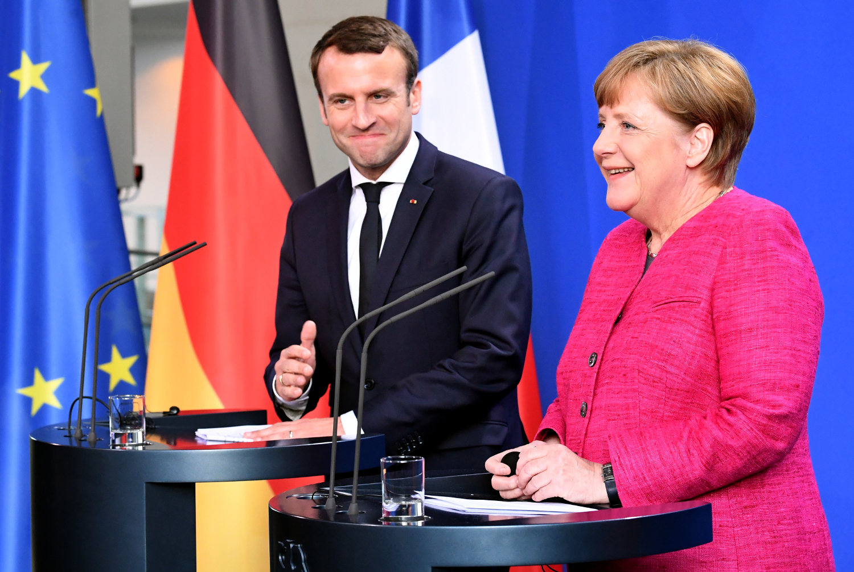 Macron and Merkel approve.