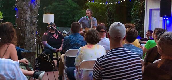 Ezra Vancil Texas Songwriter Big House Home Concert Series 2019 with Paco Estrada