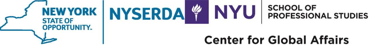 NYSERDA and NYU Logos