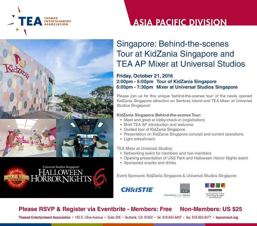 TEA KidZania Singapore f