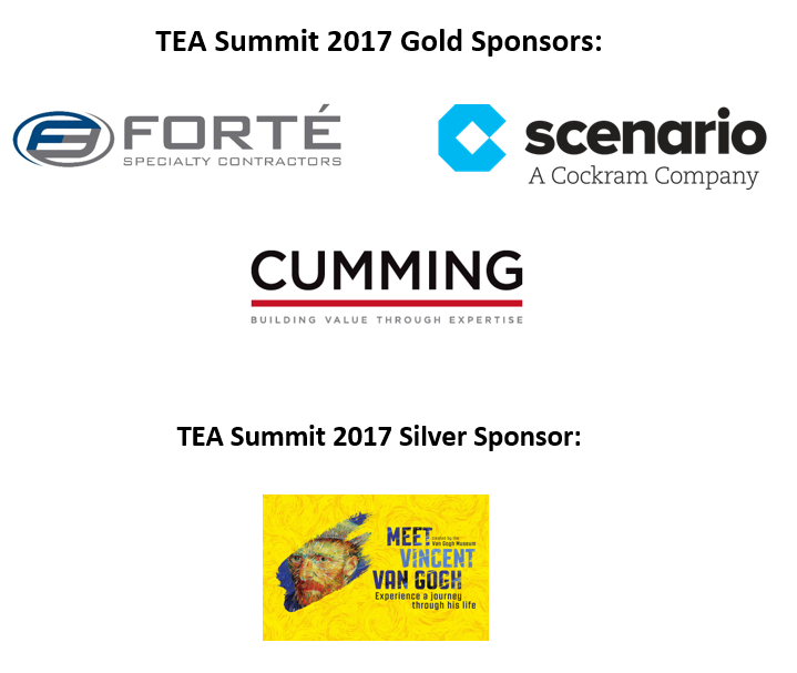 TEA Summit Sponsors 2017