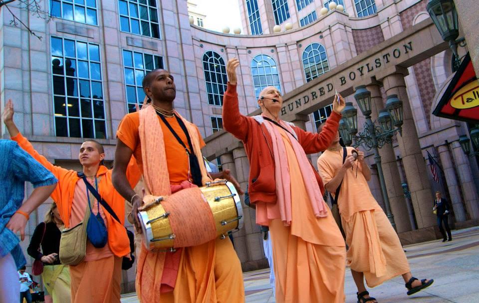 Hare Krishna Chanters