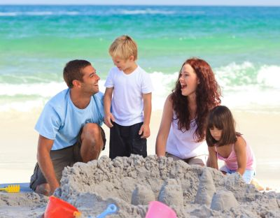 Sandcastle family