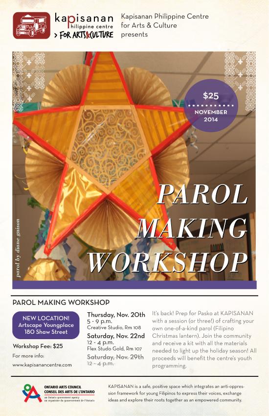 Parol Making 2014