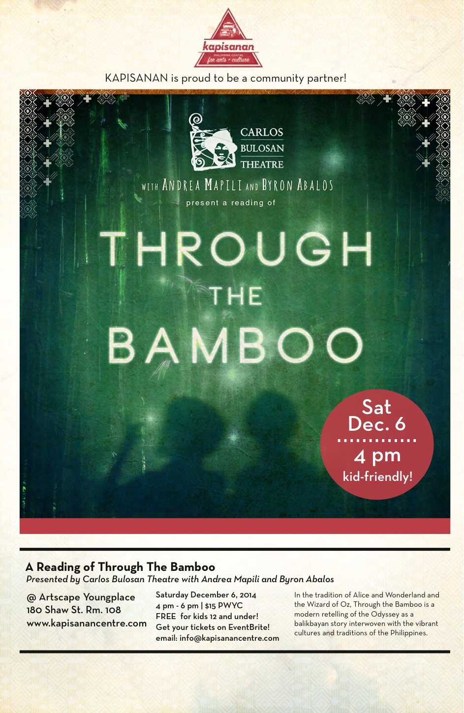 Through The Bamboo