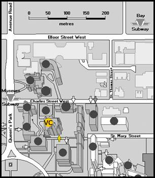 Victoria College Map