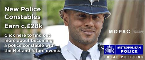 London is YOU! Police Officer Recruitment Meet and Learn Session