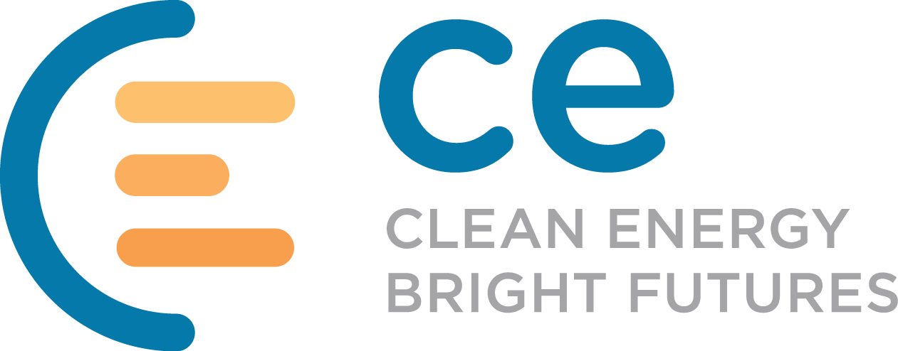 CE logo with tagline