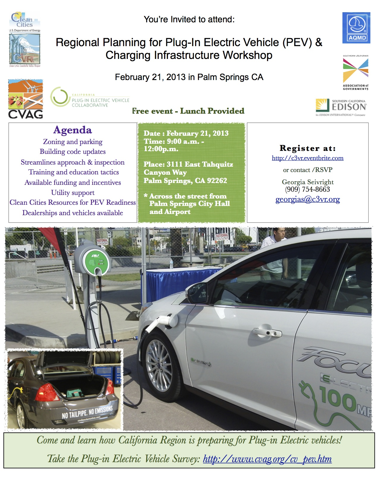 Regional Planning for Plug-in Electric Vehicle