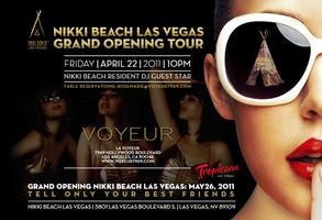 Grand Opening Party Tour: Voyeur Nightclub