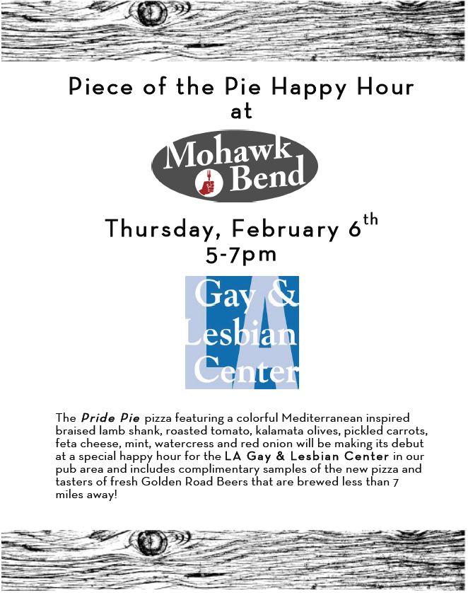 Pride Pie event Flier