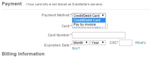 Invoice Option