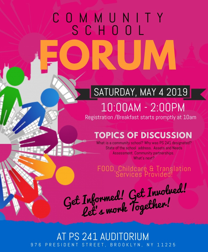 CS Forum flyer